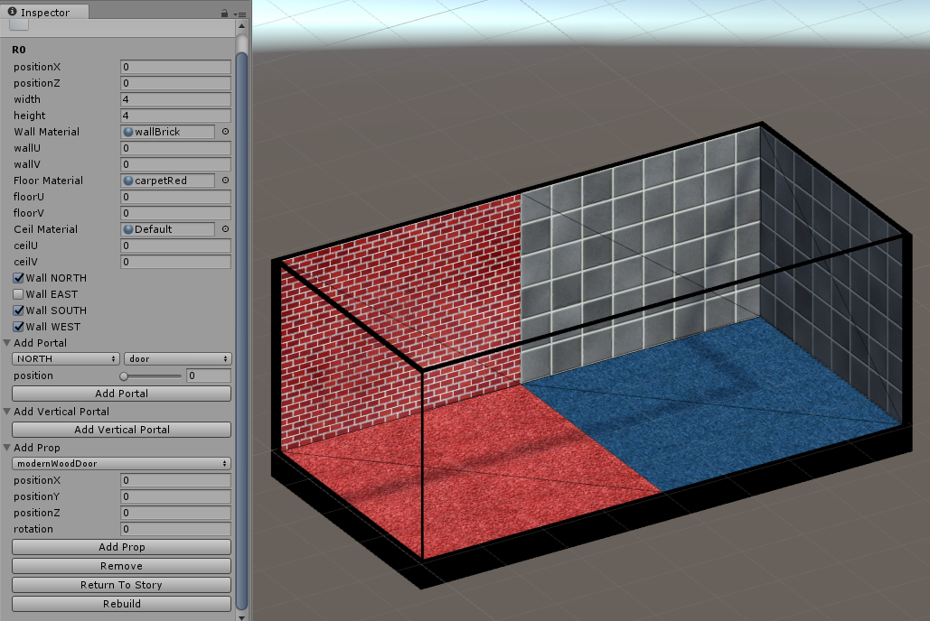 Removing wall vertices